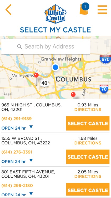 White Castle Online Ordering screenshot-1