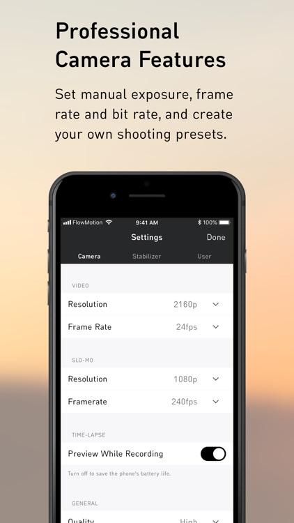 FlowMotion App screenshot-4