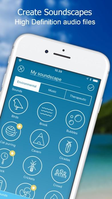Screenshot for ReSound Tinnitus Relief in Denmark App Store