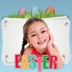 21.Easter Bunny - Photo Stickers