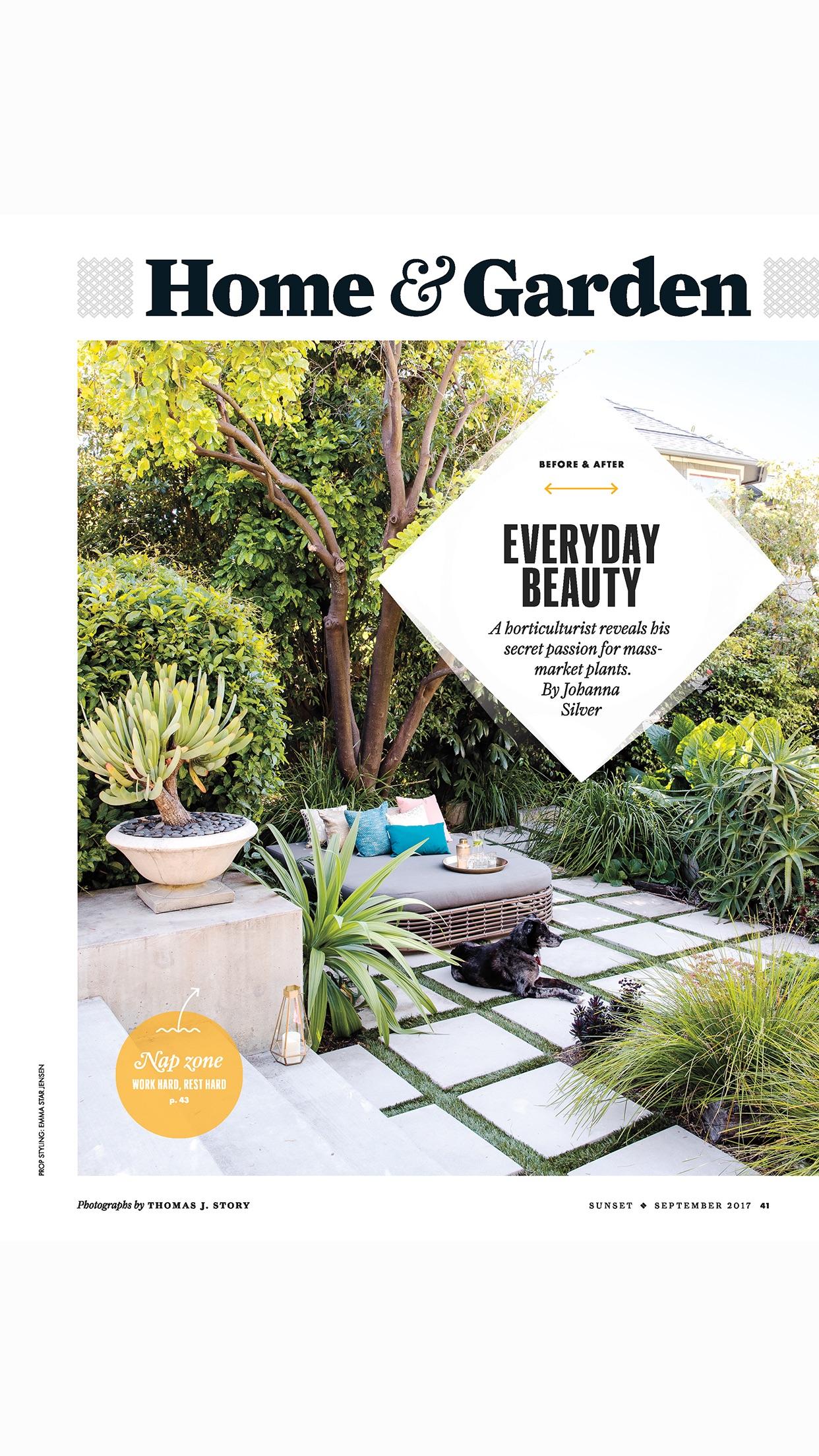 SUNSET Magazine Screenshot