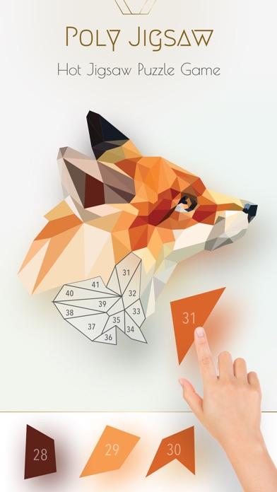 Poly Jigsaw - 私塗り絵本スクリーンショット1