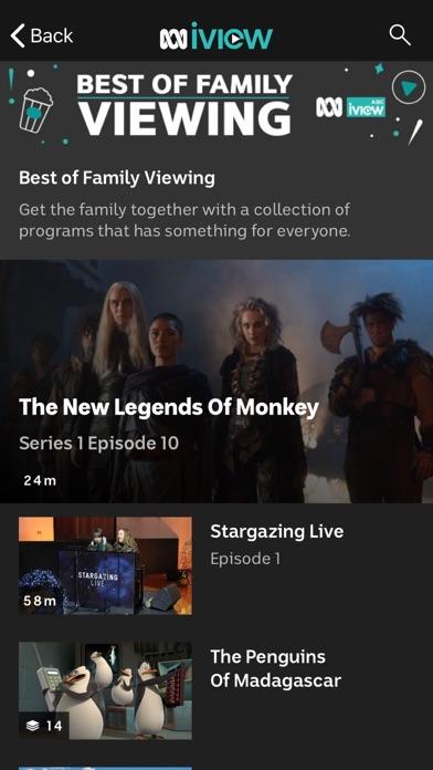 Screenshot for ABC iview in Australia App Store