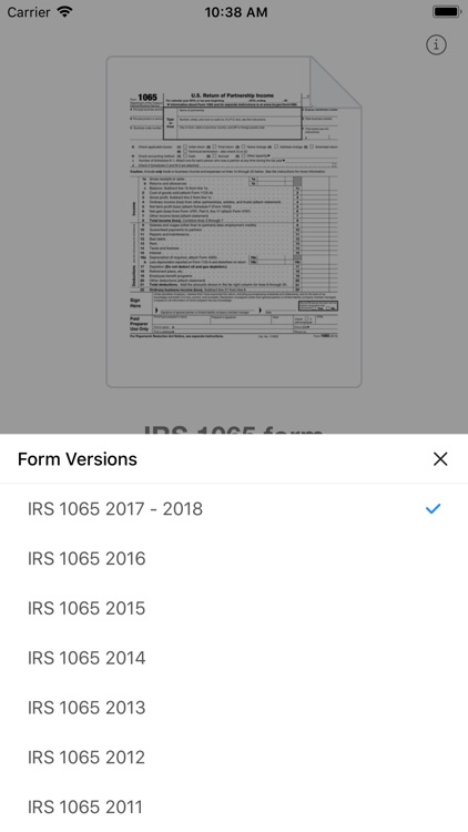 1065 Form By Pdffiller Inc