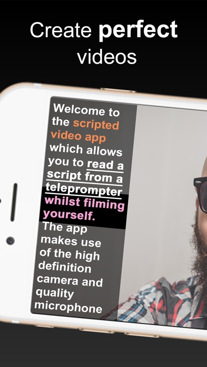 Teleprompter for Video