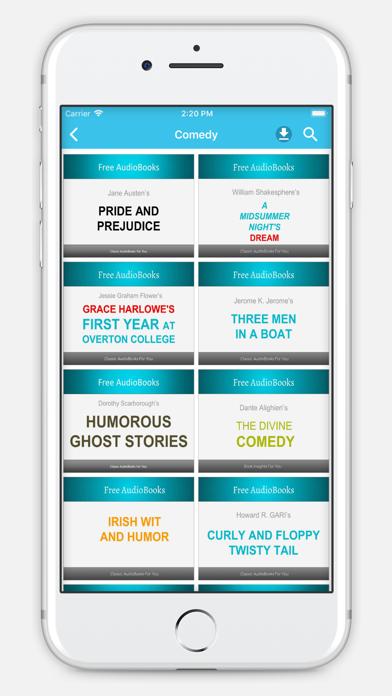 Comedy Audiobooks screenshot one