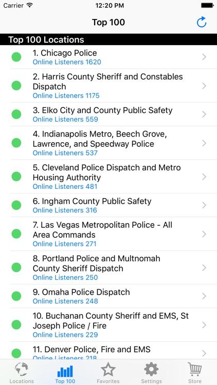 Police Radio Pro - Mobile Scanner screenshot-4