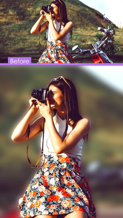 DSLR Camera Effect
