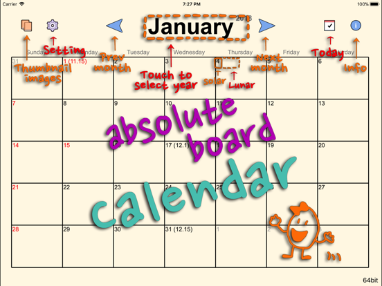 Top 10 Apps like Absolute Board Calendar Free in 2019 for