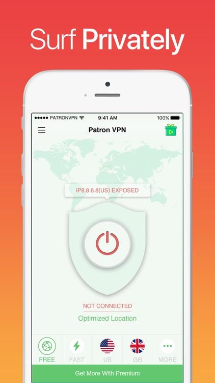 VPN Patron - Super VPN Master screenshot-3