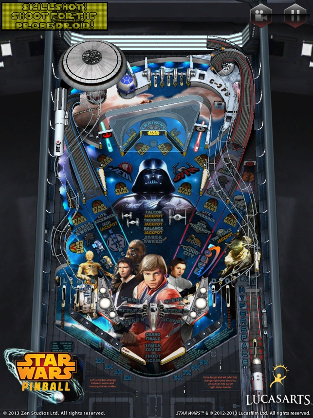 Star Wars Pinball Machine >> Star Wars Pinball 7 On The App Store