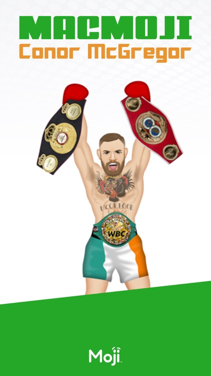 MacMoji ™  by Conor McGregor screenshot-0