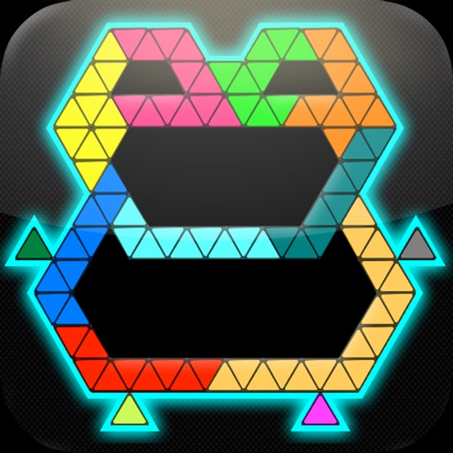 Puzzle Grid Triangles iOS App