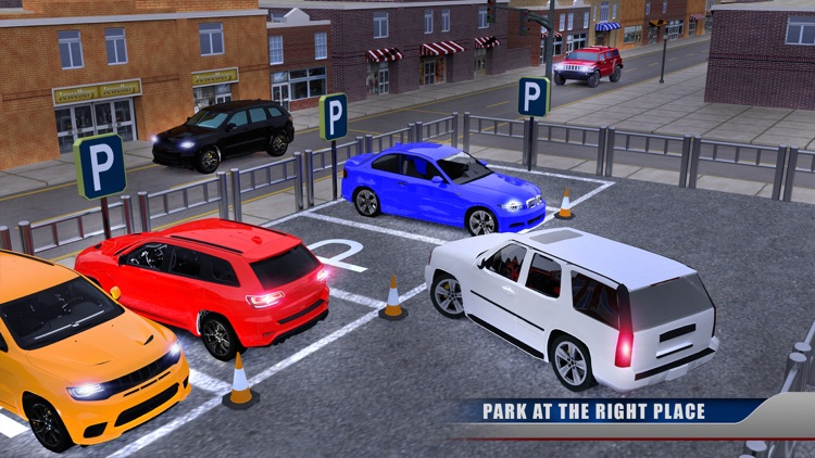Prado Car Parking Madness Fury screenshot-3