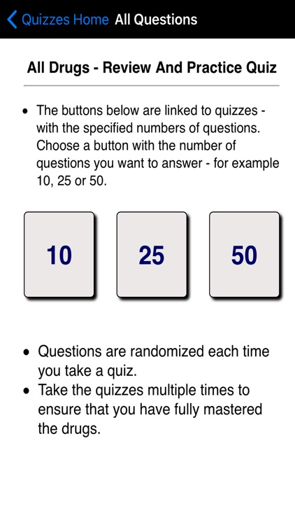 Top 100 Drugs Quiz screenshot-0