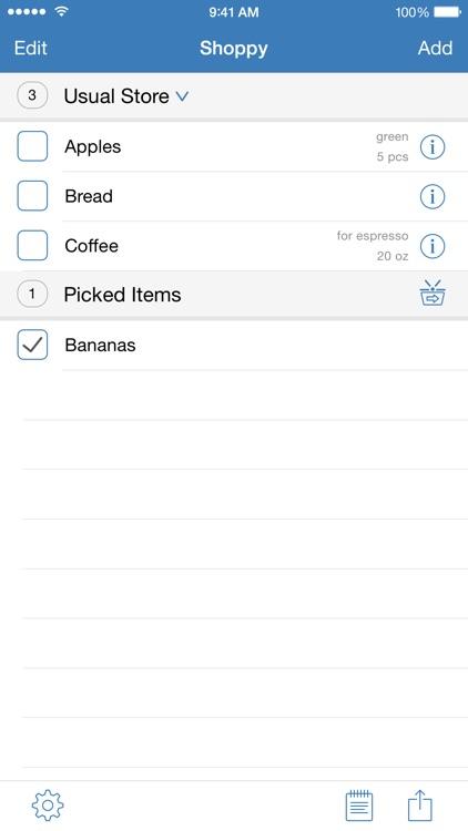 Shoppy ~ Groceries screenshot-1