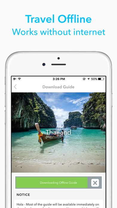 Uganda Travel Guide by Triposo screenshot one