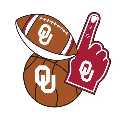 Oklahoma Sooners Selfie Stickers