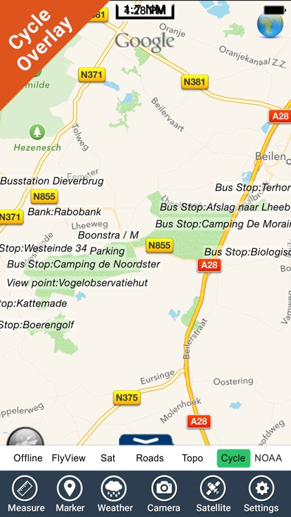 Dwingelderveld NP GPS and outdoor map with guide screenshot-3