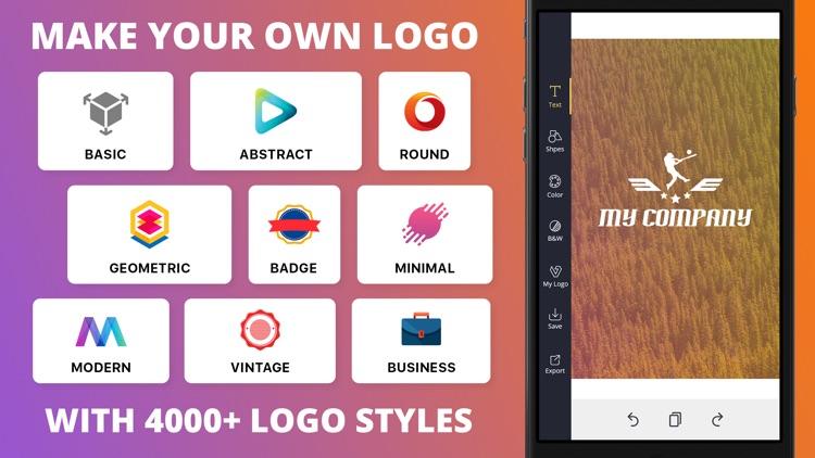 Logo Maker Font Design Creator screenshot-4