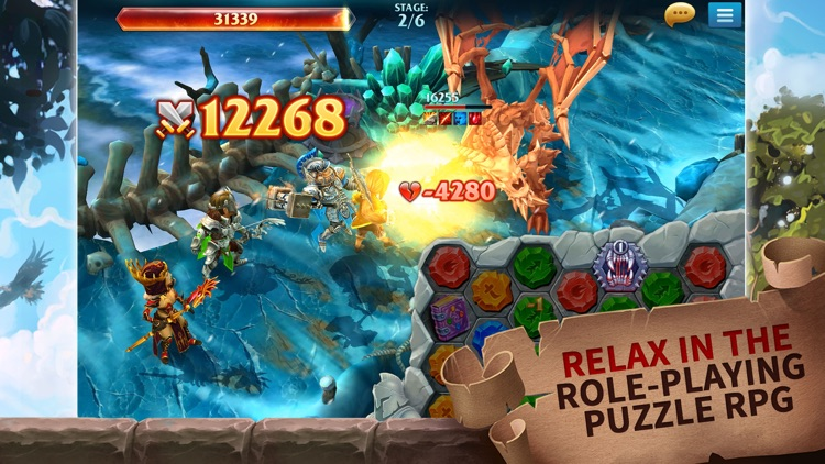 Forge of Glory: Puzzle & RPG screenshot-3