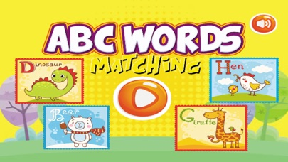 Words ABC Cards Matching