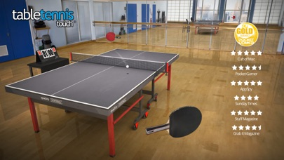Table Tennis Touchのスクリーンショット