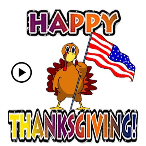 Animated Happy Turkey Day