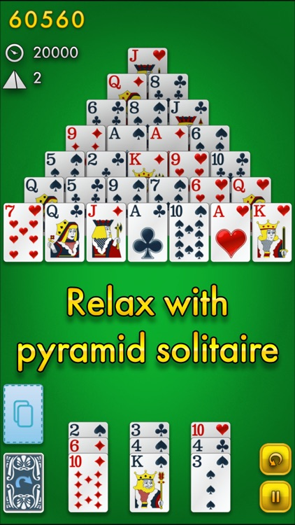 Pyramid Solitaire Classic screenshot-2