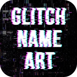 Glitch Effect Name Art