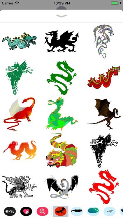 Dozens of Dragon Stickers screenshot-4