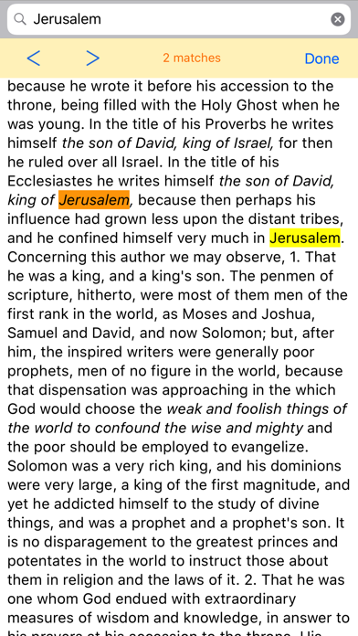 Matthew Henry Commentary review screenshots