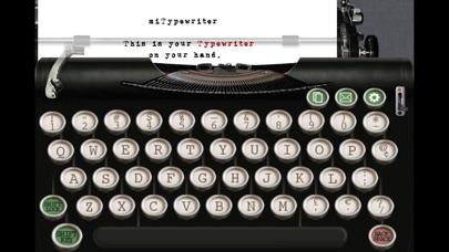 miTypewriter Screenshot 1