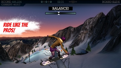 Screenshot from Snowboard Party Pro