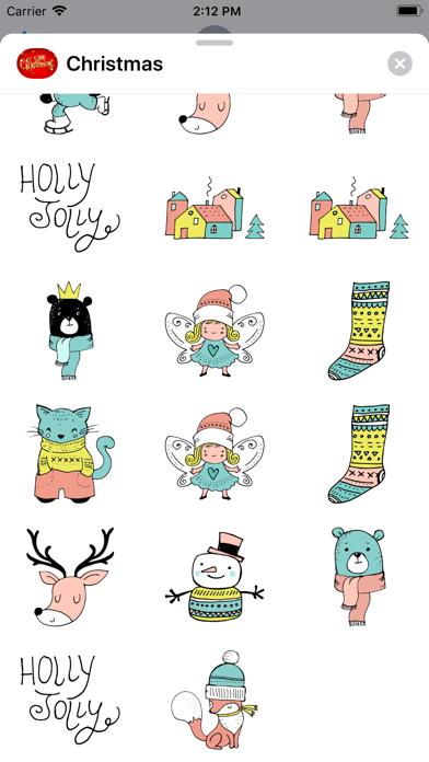 Reindeer & Winter Christmas IM screenshot three