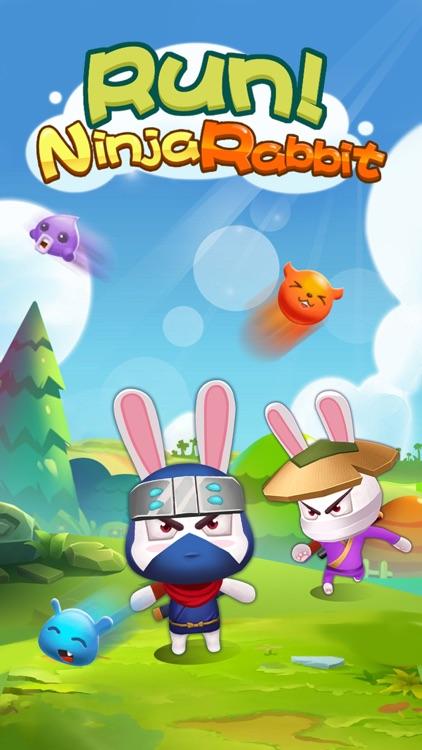 Run Ninja Rabbit Run screenshot-4