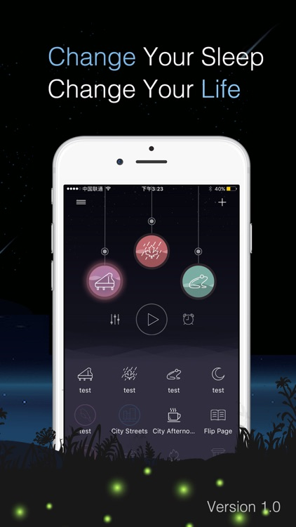 Sleep sounds - Relax Melodies & Sleep Master! screenshot-0