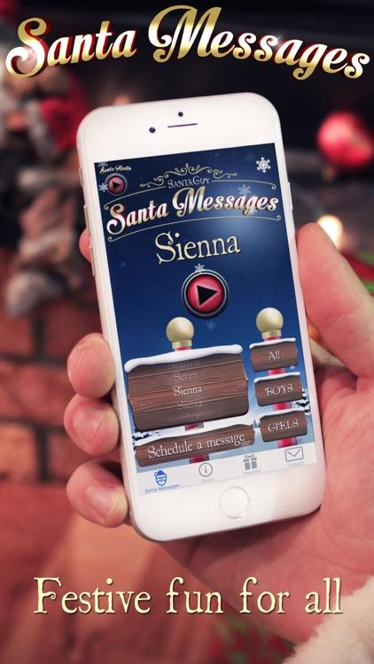 Santa Messages screenshot-4