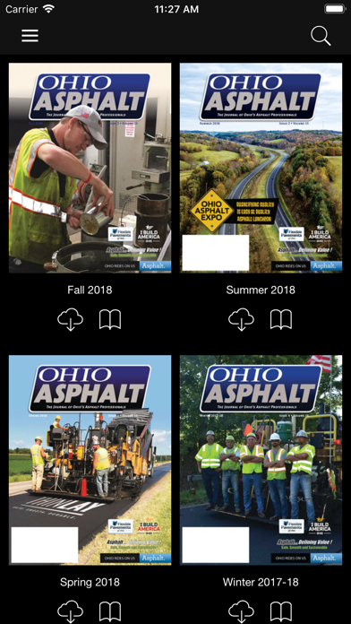Ohio Asphalt Magazine screenshot four