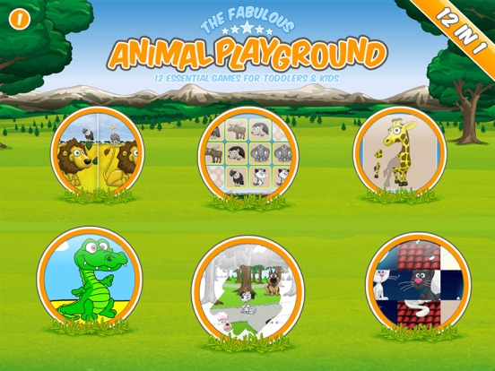The fabulous Animal Playground Screenshots