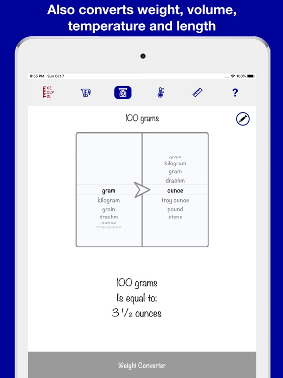 Measuring Cup & Scale for iPad screenshot-4