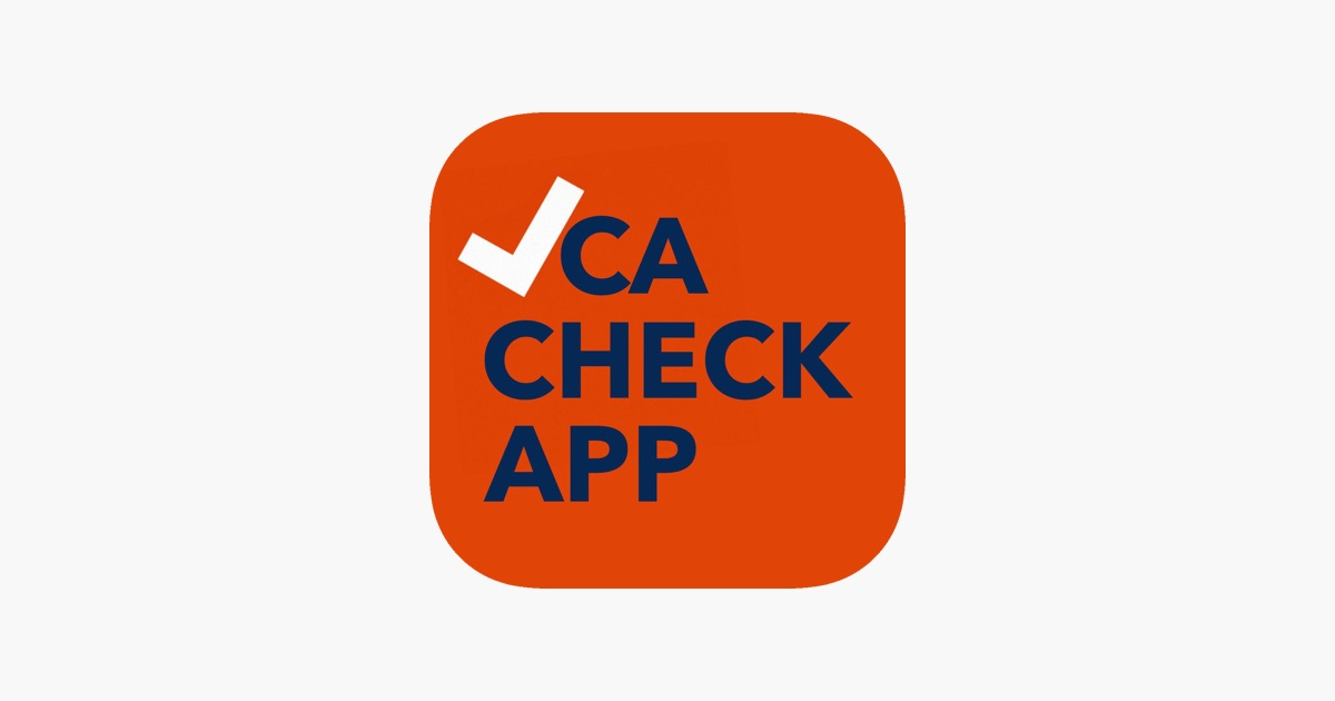 Vca Check App On The App Store