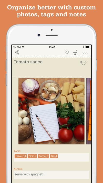 Recipe Organizer by OrganizEat screenshot-7