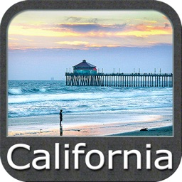 Marine: California - GPS Map Navigator