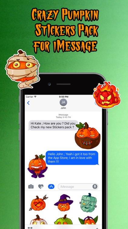 Happy Halloween :Crazy Pumpkin