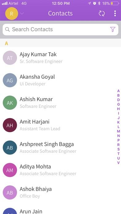 Teambook Screenshot