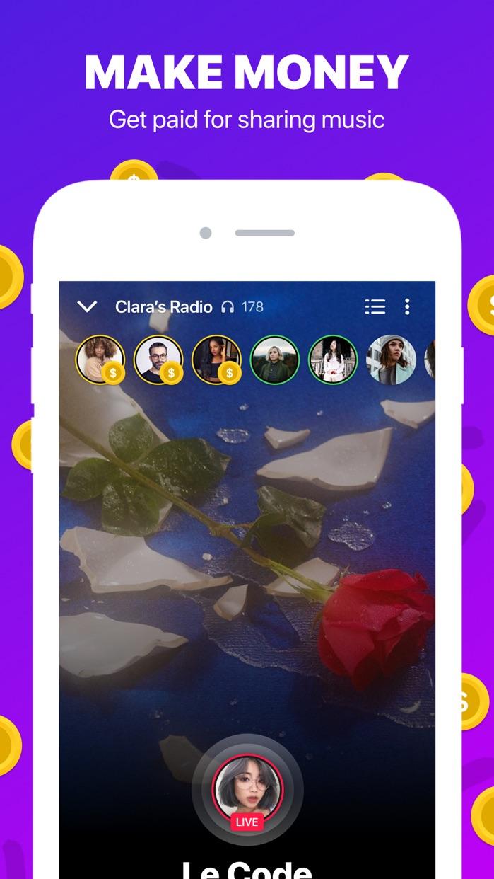 Sounds App Music Sharing Screenshot