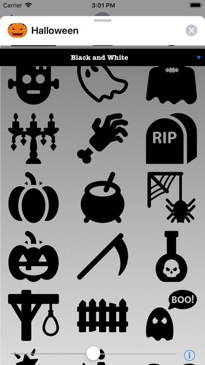 Halloween Stickers to Scare screenshot-4