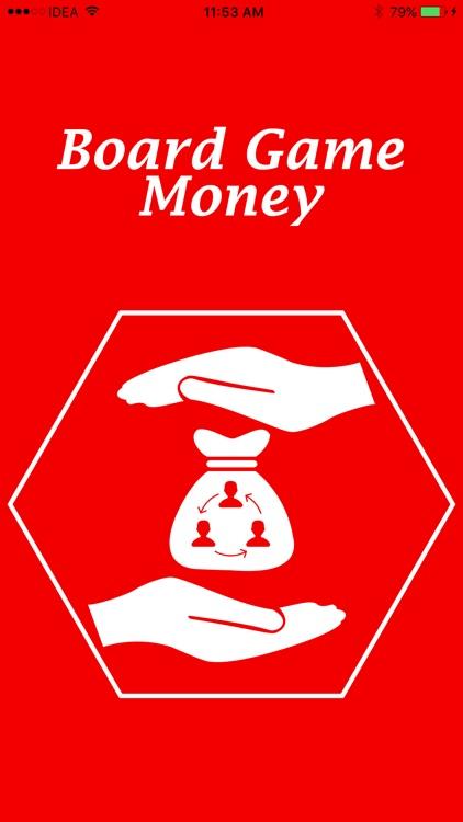 Board Game Money