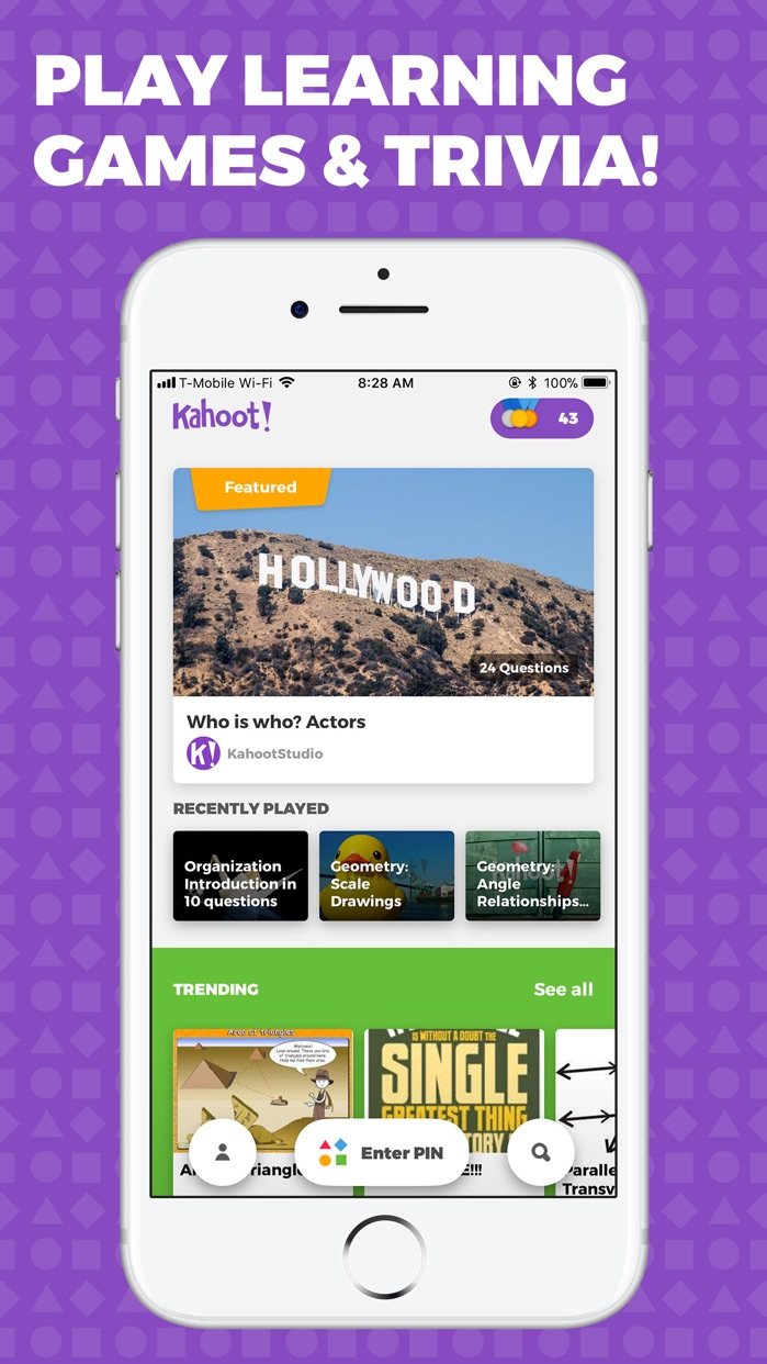 Kahoot! - Play Learning Games Screenshot